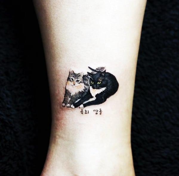 Tatuagens femininas de animais