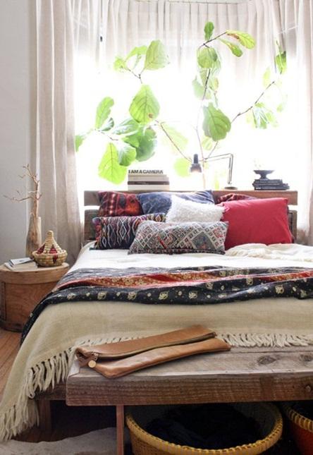 Inspiracje W Moim Mieszkaniu Sypialnia W Stylu Boho