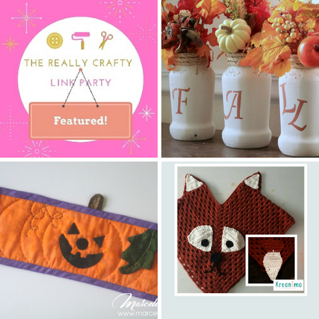 The Really Crafty Link Party #90 featured posts!