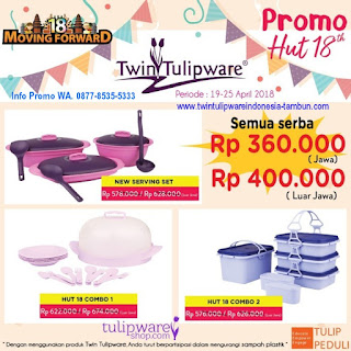 Promo HUT 18th - 3M Mantap Murah Meriah