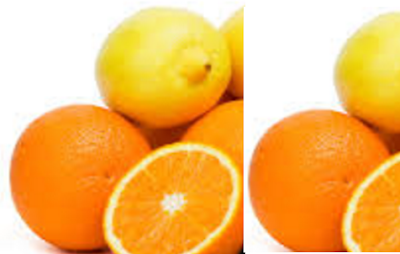 Citrus Fruits rich food in carbohydrates