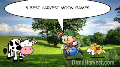 Top 5 Best Harvest Moon Games