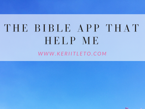 [November Special] The Bible app that help me