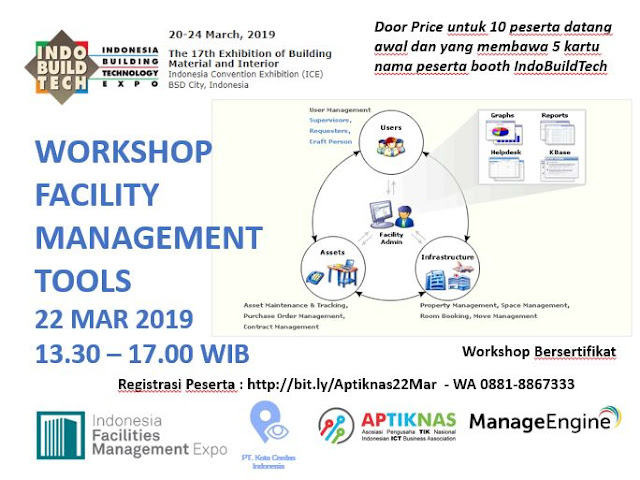 Workshop Facility Management Tool - 22 Maret 2019 - INDOBUILDTECH