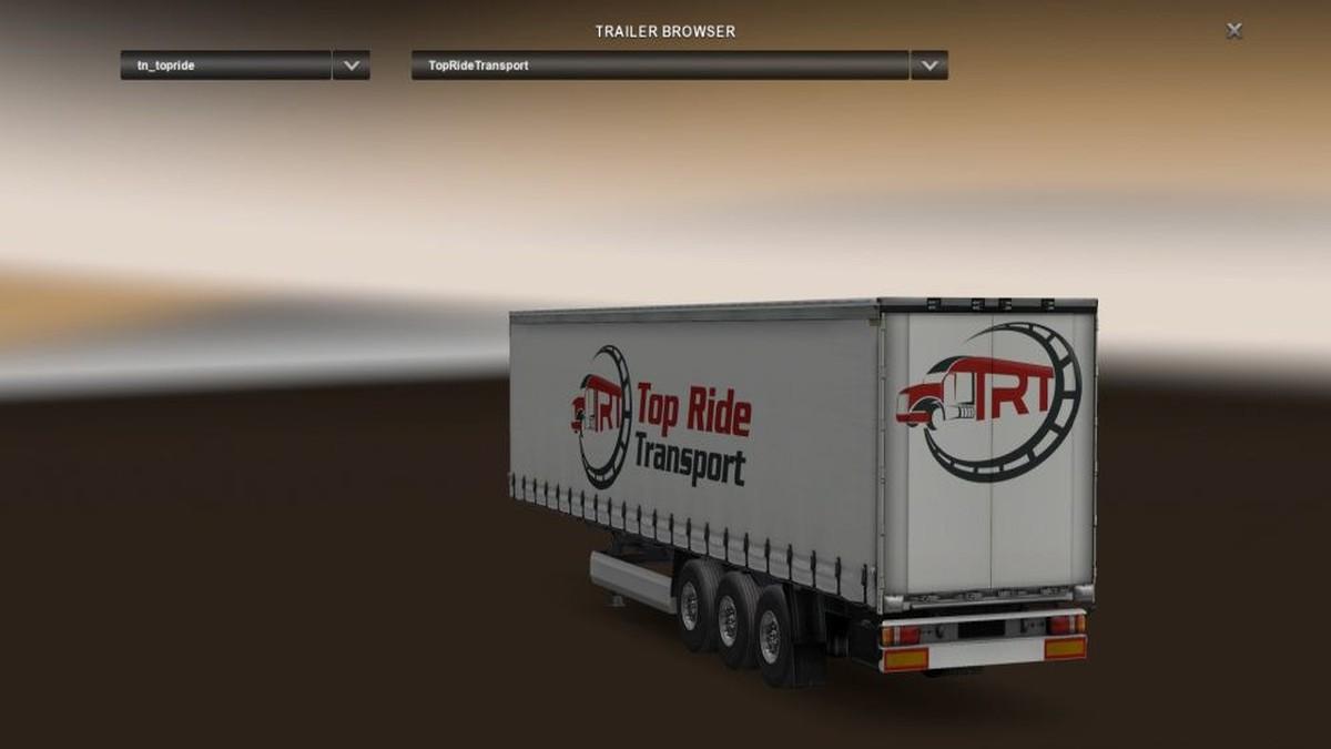 Trailer TopRide Transport