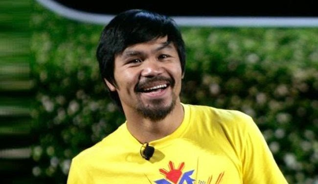 Manny Pacquiao Answered Back on Floyd Mayweather Jr's for the Megafight on May 2, 2015