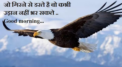 Good morning quotes in hindi with photo - eagle qutoes