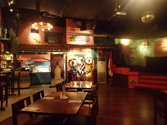 amigos bar cantina, bellagio boutique mall kuningan jakarta