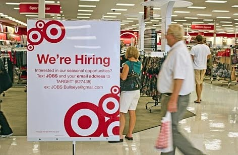 Target Addict: Target tries texting for seasonal hiring