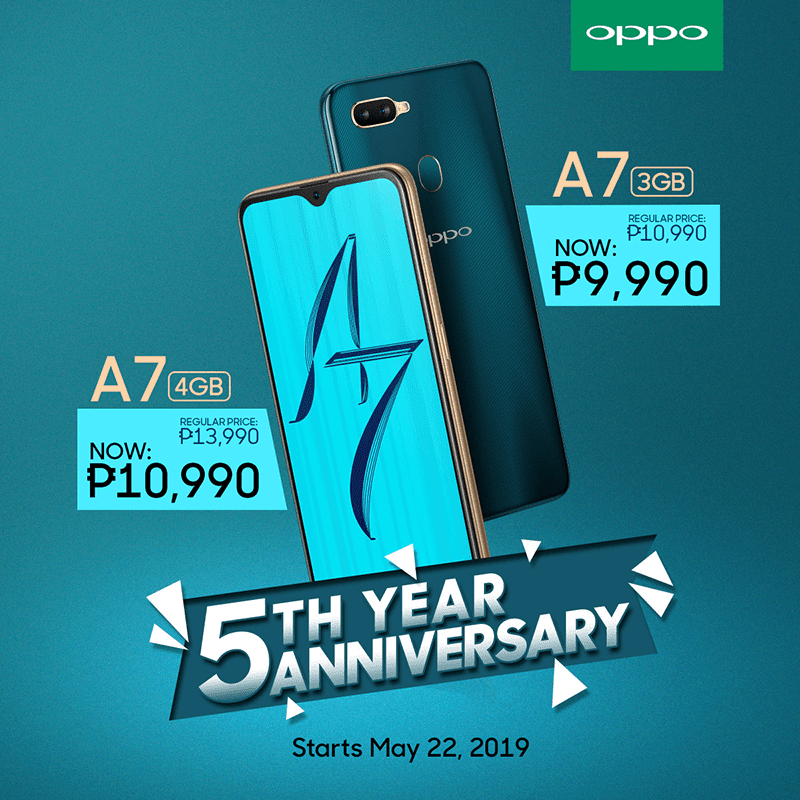 Sale Alert: OPPO slashes the price of A7 in the Philippines