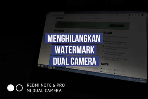 Cara Menghilangkan Tulisan Watermark Foto di HP Xiaomi