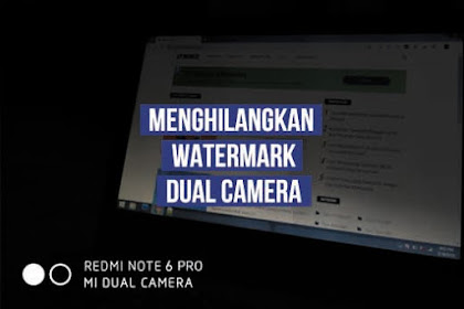 Cara Menghilangkan Tulisan Watermark di Foto HP Xiaomi