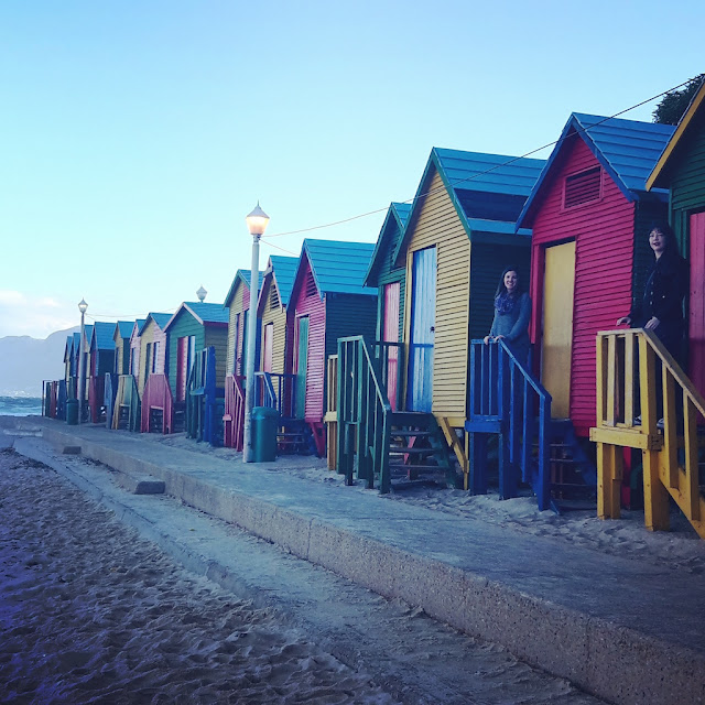 Beach change rooms, St. James, Cape Town