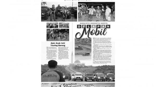 Tak Cuma Touring, Intip Yuk Kegiatan Suzuki Jimny Bintan Club