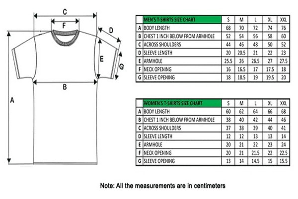 Shirt Measurements Measurement Guide. Basic Product Specs Size XS S M L XL Please note that our SignatureSoft tee has a slightly different fit than our basic T-shirt. The shoulders and sleeves are smaller than the basic. If you prefer a relaxed fit, then we recommend ordering one size up.