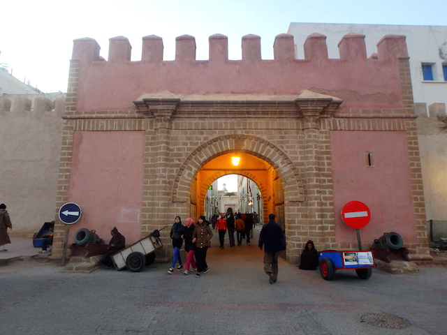 Medina entrance door Essaouira Morocco