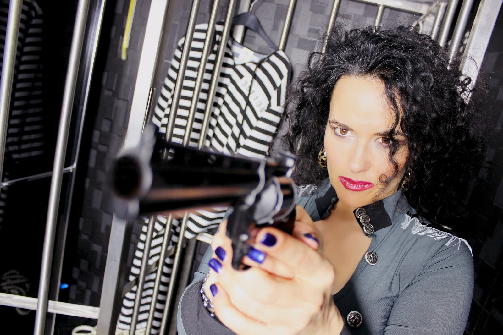 Polizistin Alina Sommer
