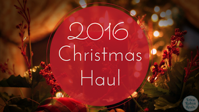 2016 Christmas book haul
