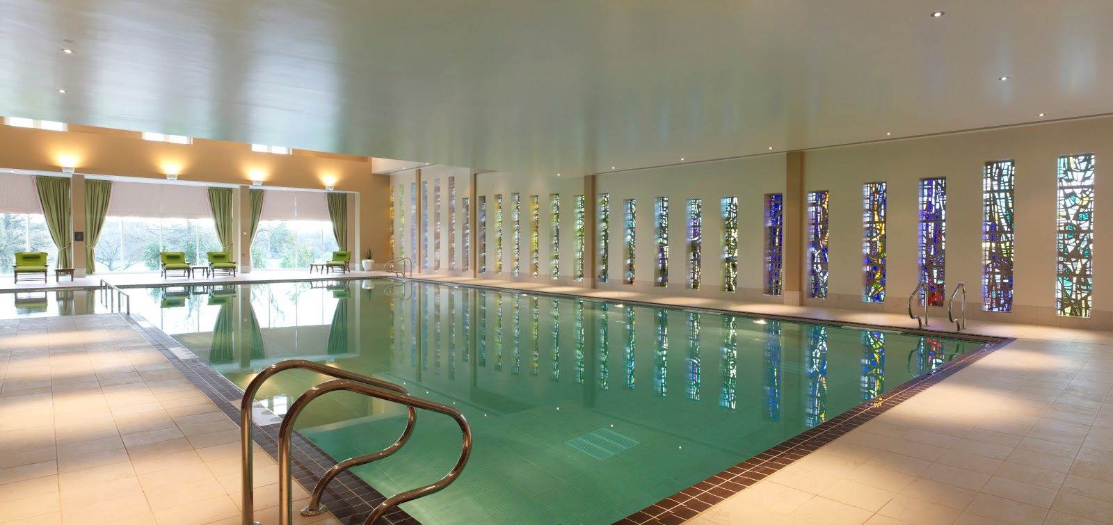 Rockliffe Hall midweek spa break review - indoor pool