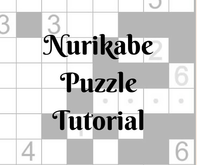 Nurikabe Puzzle Tutorial by Conceptis Puzzles