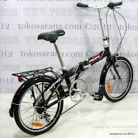 Sepeda Lipat Pacific 2588 Rangka Aloi 20 Inci