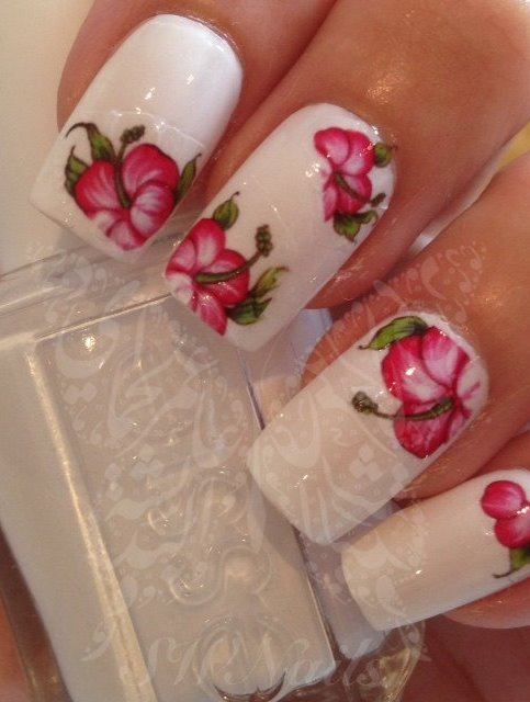 cool nail art design idea