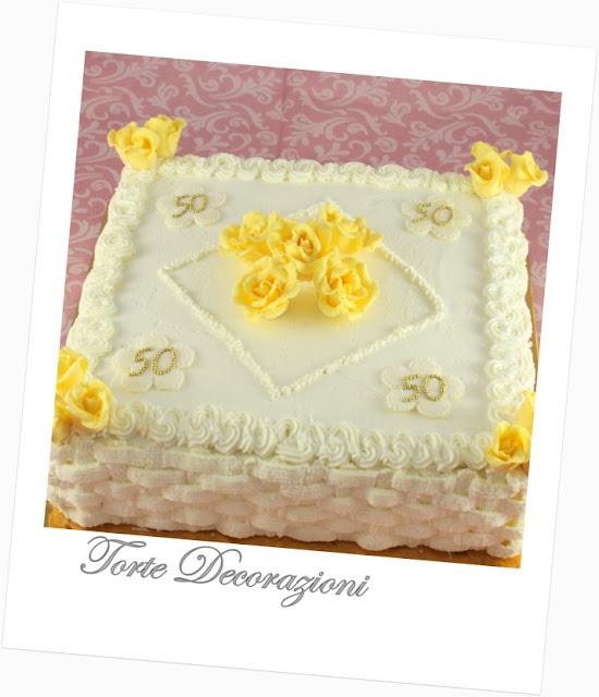 Torte E Decorazioni Torte Anniversario Nozze D Oro