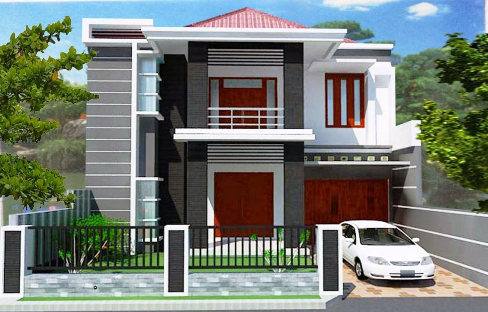 Contoh Desain Rumah Minimalis Modern Kumpulan Model Rumah Minimalis
