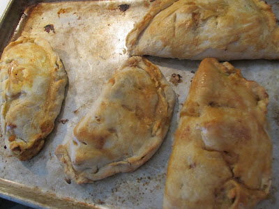 Finnish Meat pies made with left over roast -Vickie's Kitchen and Garden