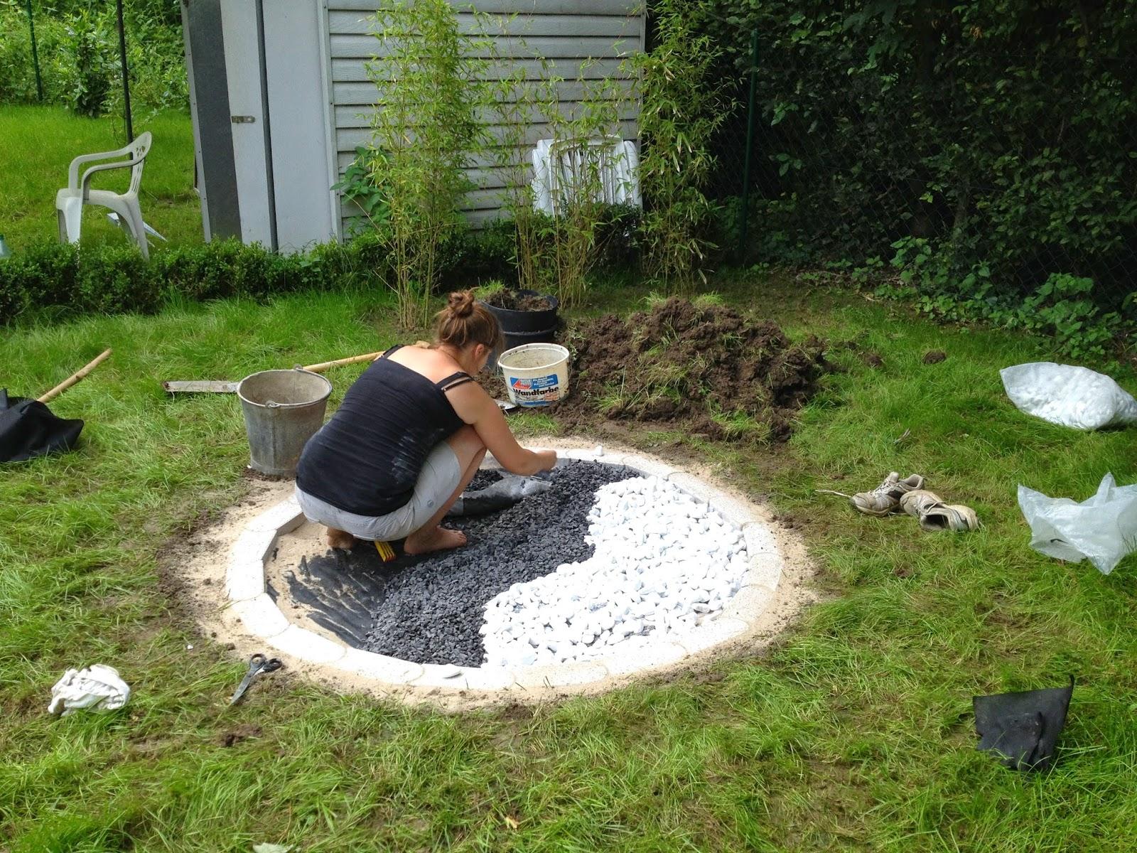 Neu Kies Steine Garten Ideen