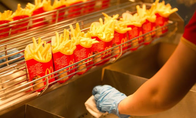 Batata do McDonald's em Orlando