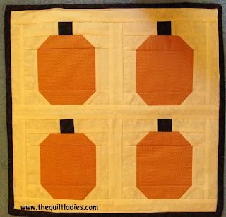 Pumpkin Quilt Pattern Block for YOU