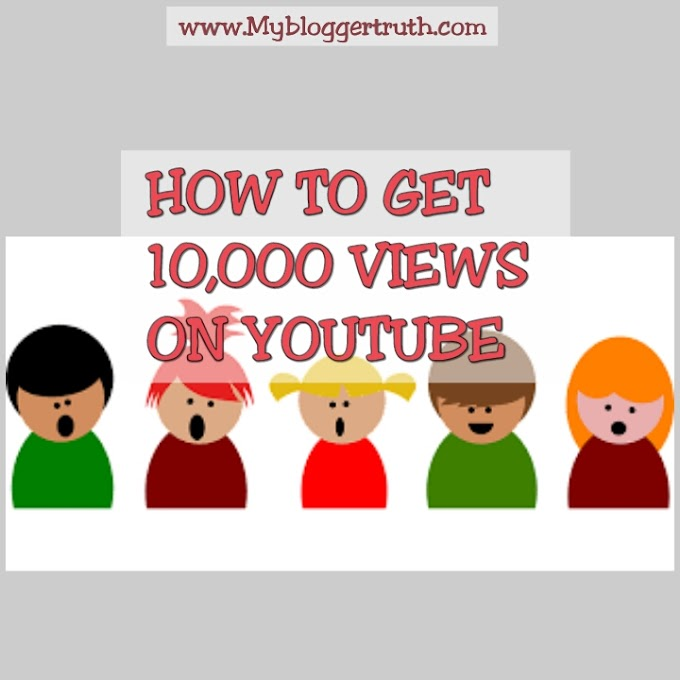 How to get 10,000 views for YouTube videos