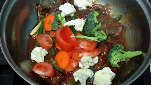 Resepi Daging Masak Paprik Sedap