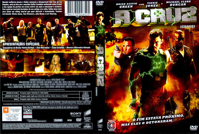 Capa DVD A Cruz