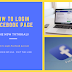 Facebook Home Page Login Page