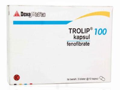 Harga Trolip Obat Kolesterol Terbaru 2017