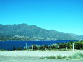 Dique (Barragem) de Potrerillos, em Mendoza