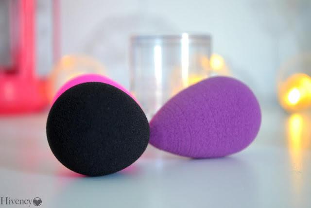 éponge à maquillage - produit de maquillage - fond de teint - correcteur - teint lumineux - teint 0 défaut - teint parfait