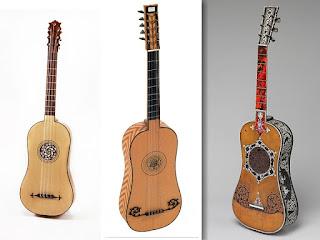 первые гитары