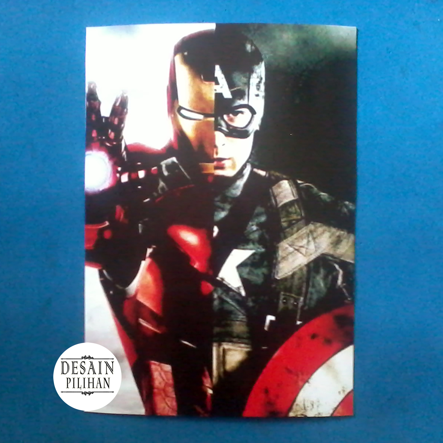 POSTER CAPTAIN AMERIKA - IRON MAN