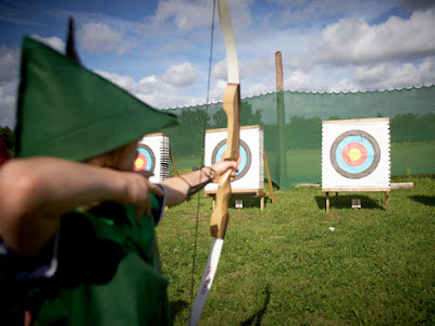 Archery sessions at Sherwood