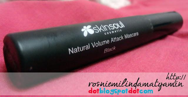 [Review] - SkinSoul Natural Volume Attack Mascara, Paraben Free & Prostagladin Free