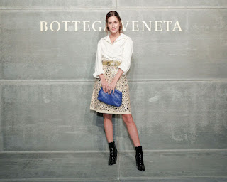 Gala Gonzalez At Bottega Veneta Show At New York Fashion Week