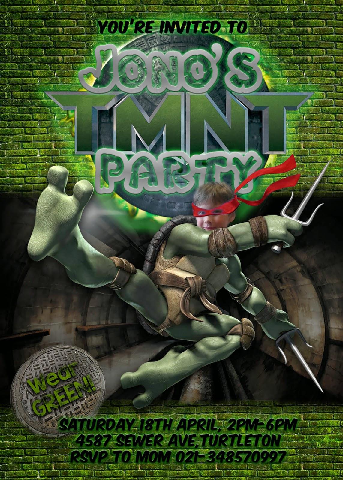 Great Fun Etc Ninja Turtle Tmnt Party Free Printables