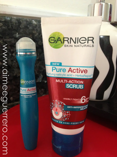 Garnier Pure Active Anti Acne Products Reviews Aimee