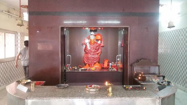 Hanuman Temple in Bishrampur