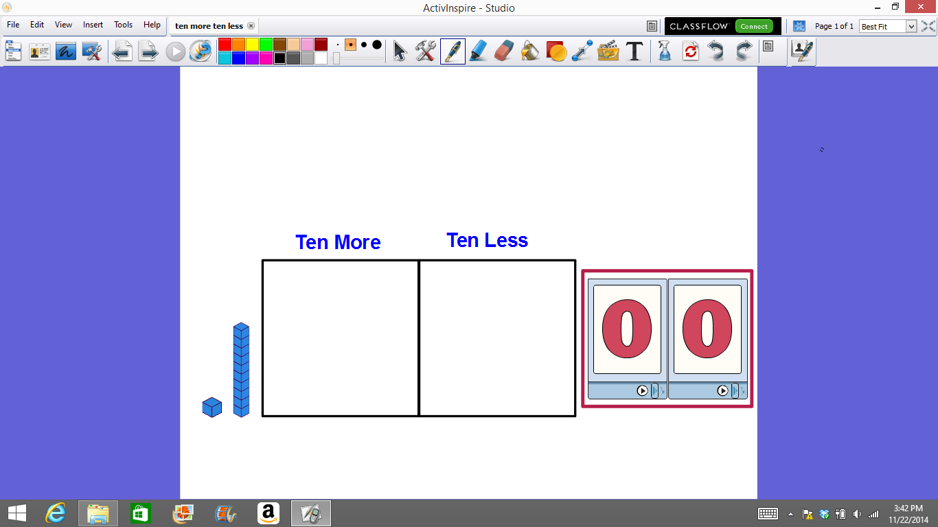 Mrs T S First Grade Class Place Value Flipcharts