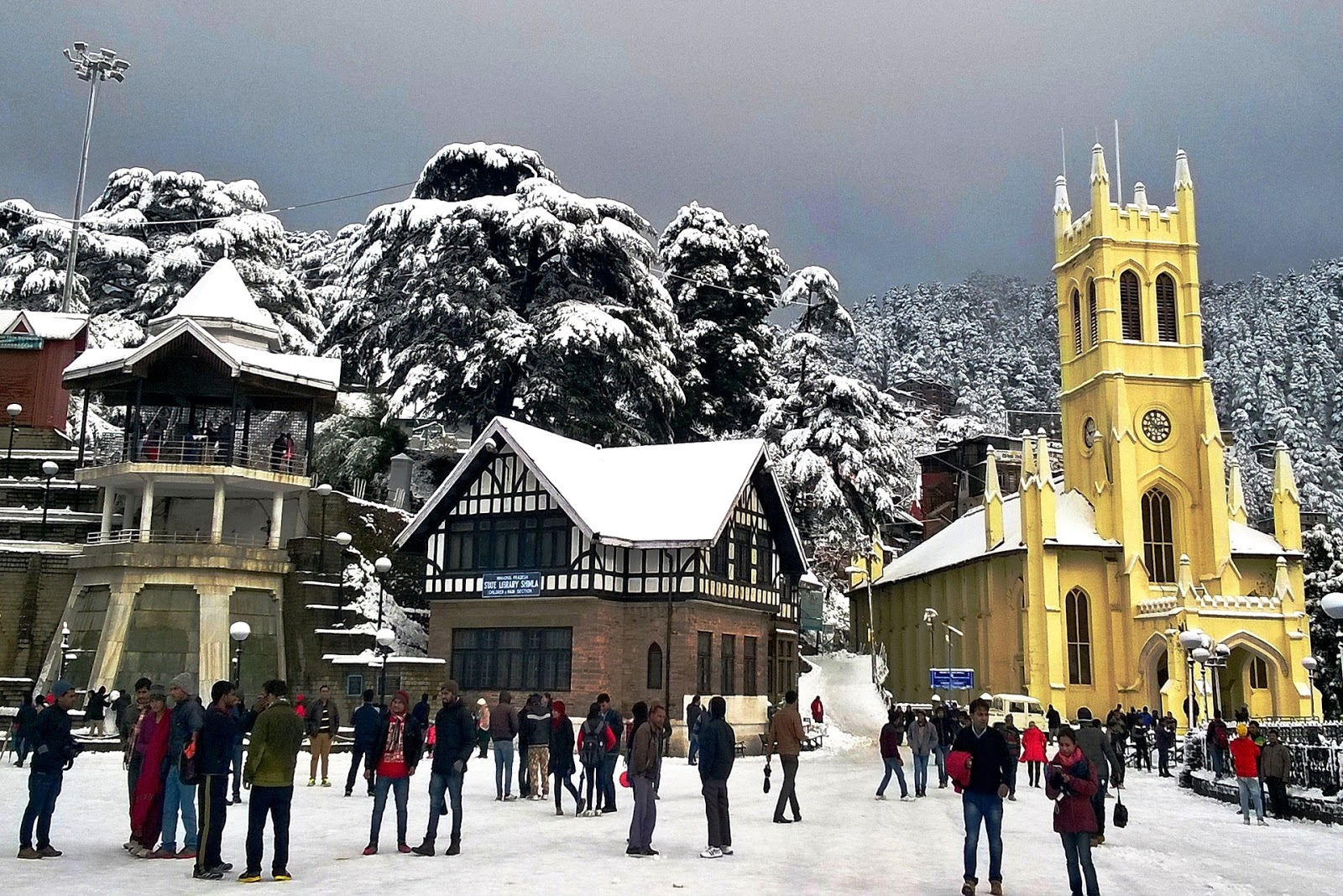 shimla in christmas - Best Places To Visit During Christmas