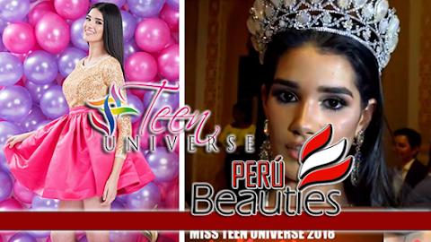 Miss Teen Universe 2018 es Cuba